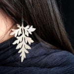 Örhänge i silver av Katarina Henriksson