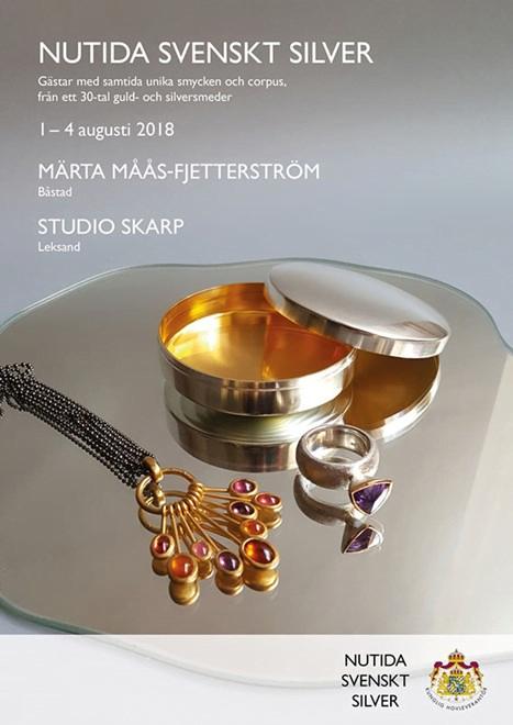 Nutida Svenskt Silver ställer ut hos Märta Måås-Fjetterström och Ylva Skarp.