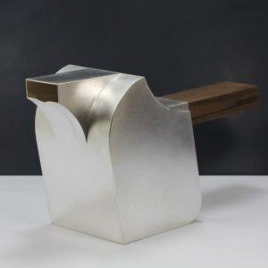 Kaffekanna i silver av Erik Tidäng