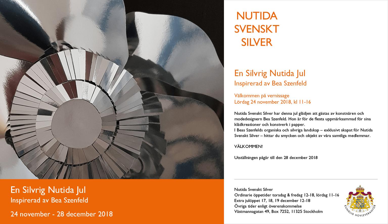 Jul 2018 - Nutida Svenskt Siver