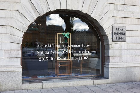 Nutida Svenskt Silver gästar Svenskt Tenn