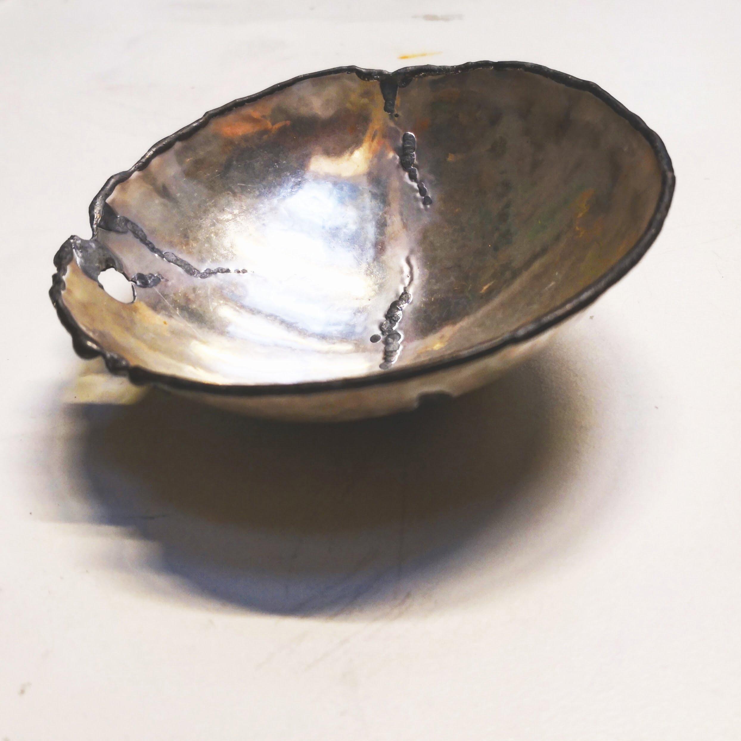 Beata Grahn, Skål av silver