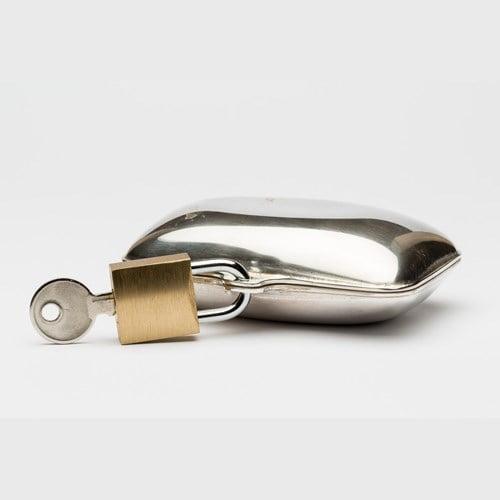 Dosa med hänglås, silver, Magnus Liljedahl