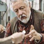 Silver dosa med fingeravtryck. Inspirerat av dig-Nutida Svenskt Silver Agust Happ inspireras av Leif GW Personn