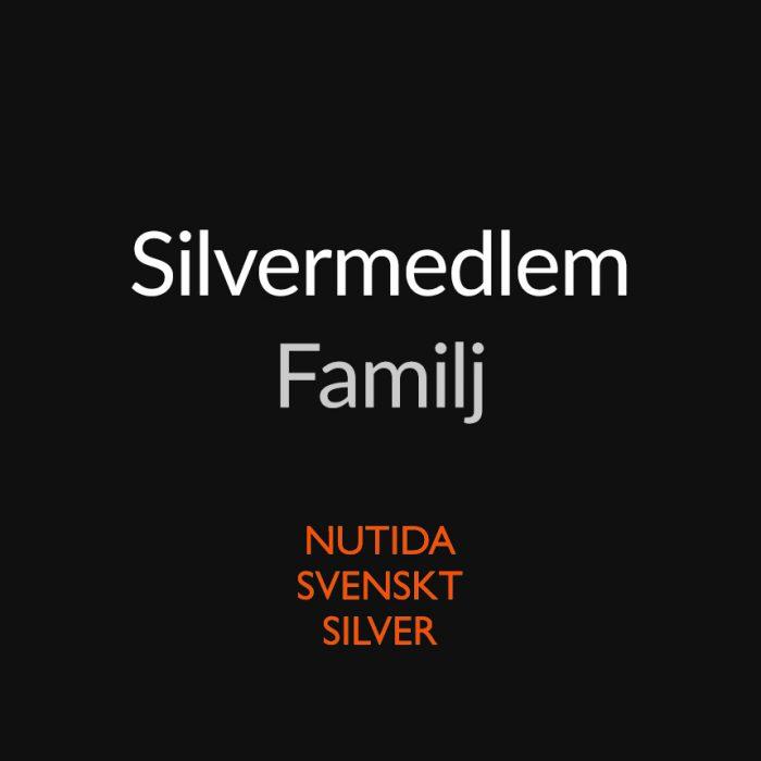 medlem familj - Nutida Svenskt Siver