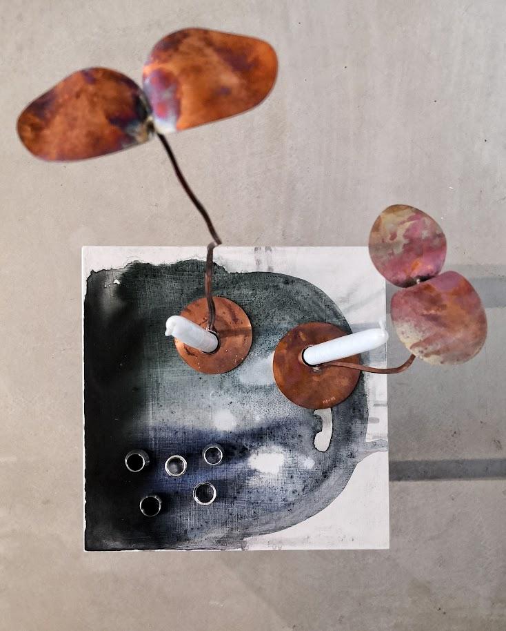 Utställningen Statements på Studio Skarp i Leksand