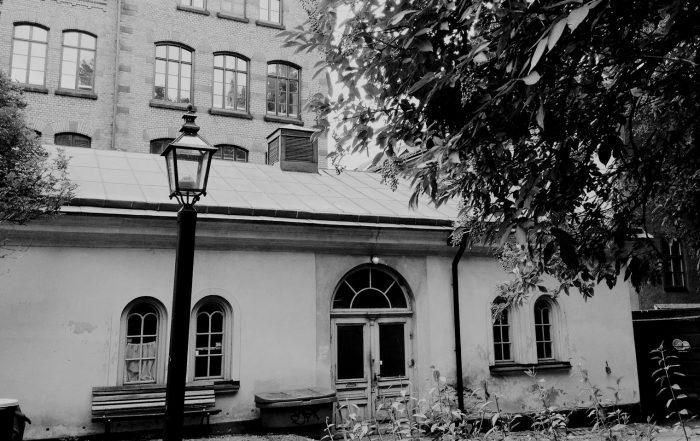 Benhuset, Katarina kyrkogård. Foto: Katarina församling